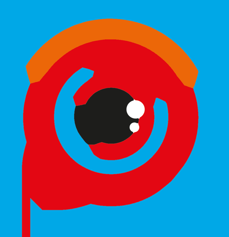 Hybridvision - symbol 4-färg